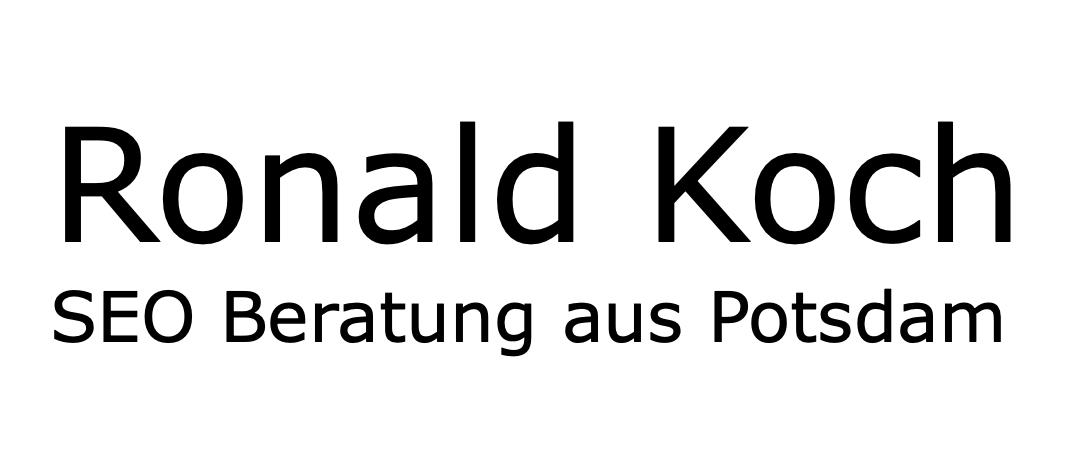 Ronald Koch Logo